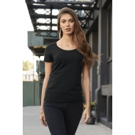 T-shirt Donna cotone deluxe